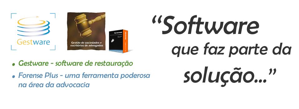 As melhores soluções em software.